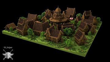 Le village d'Itoryl Minecraft Map & Project