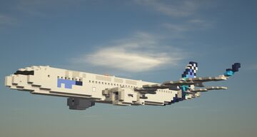 Airbus A321NEO 1.5:1 Scale Minecraft Map & Project