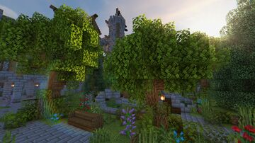 Mystyc's entry to CaraRose's Community Garden Event Minecraft Map & Project