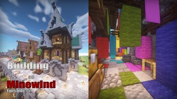 Minecraft: Wool Shop Minecraft Map & Project
