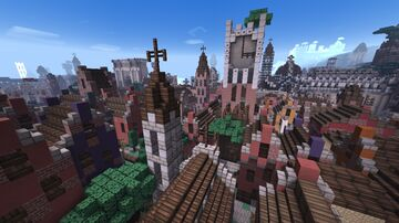 The Popolo District Minecraft Map & Project