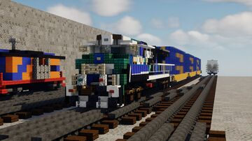"CSX 3194 ""Honoring Our Law Enforcment"" Heritage Unit [1.5:1] Minecraft Map & Project"