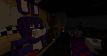 FNaF 1 map by KDgames Minecraft Map & Project