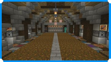 How To Build An Armory Room + Mini Shooting Range Minecraft Map & Project