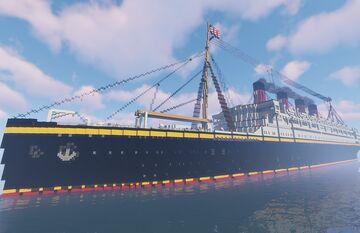 SS Panem by MrRokoko Minecraft Map & Project