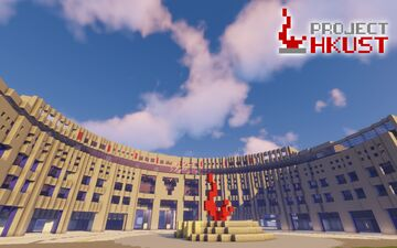 [Project HKUST] The Hong Kong University of Science and Technology Minecraft Map & Project
