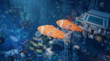 New render Ocean Fantasy Minecraft Map & Project