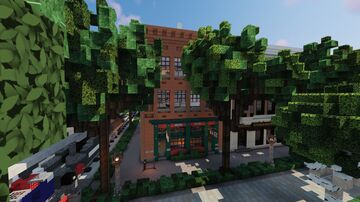 Bike Shop - Bar - Apartments on World of Keralis server! Minecraft Map & Project