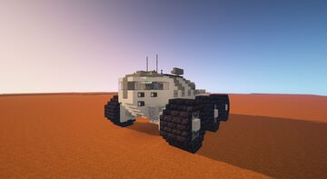 Heavy Mars rover Minecraft Map & Project