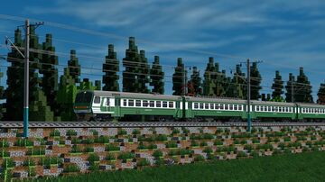 ED4m | ЭД4м - russian electrotrain Minecraft Map & Project
