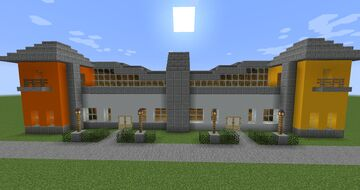 Two Retail Shops Minecraft Map & Project
