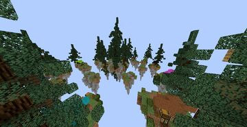 Skywars map forest theme Minecraft Map & Project