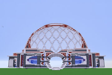 Modern Era Dome Minecraft Map & Project