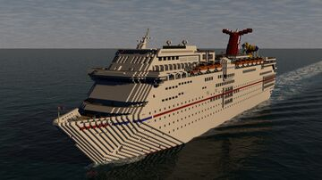 Carnival Fascination (1994) (1:1 Scale) (Full Interior) (OUT OF SERVICE 2020) Minecraft Map & Project