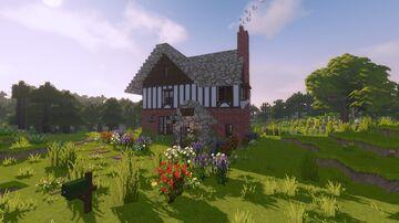 Tudor Revival Cottage (Cocricot) Minecraft Map & Project