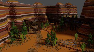 Wild West Minecraft Map & Project