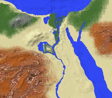 Egypt Minecraft Map & Project