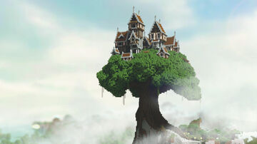 Giant Tree Village Minecraft Map & Project
