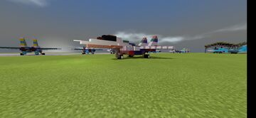 Mikoyan Gurevich Mig-29 Fulcrum Minecraft Map & Project