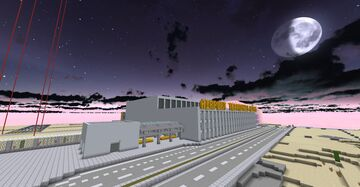 Olympia South International Airport Minecraft Map & Project