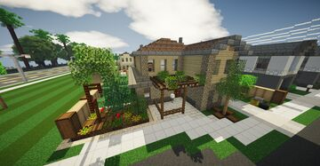 Upper midle class home #6 Minecraft Map & Project
