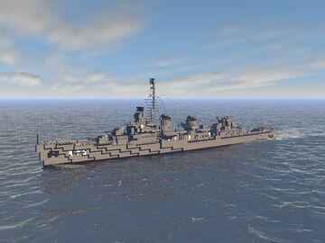 USS Fletcher [DD-445] (1942) Minecraft Map & Project
