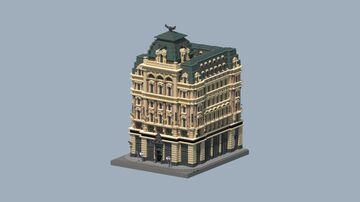 Palais Equitable, Vienna, Austria Minecraft Map & Project