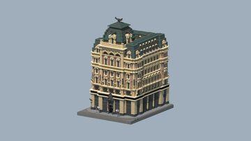 Palais Equitable, Vienna, Austria Minecraft Map & Project