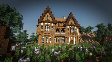 MEDIEVAL HOUSE / INN / TAVERN Minecraft Map & Project