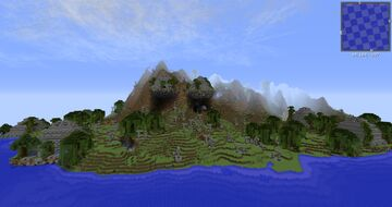 Minecraft Survival island (cheats on) ALL VERSIONS Minecraft Map & Project