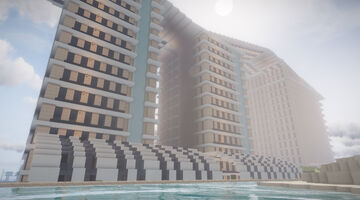 Sand Resort Hotel Minecraft Map & Project