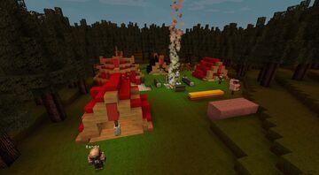 Kleines Banditenlager / Outlaw Minecraft Map & Project