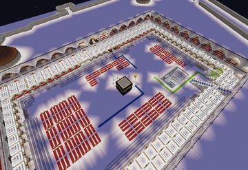 Masjid Al Haram Makkah (Grand Mosque of Makkah) Minecraft Map & Project