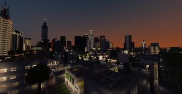 Minecraft Map - Los Angeles Preview #2 Minecraft Map & Project