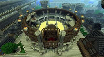 the arena Minecraft Map & Project