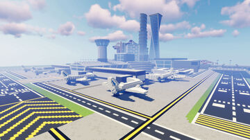 Airport (Modern City #14) Minecraft Map & Project