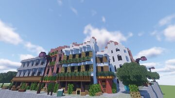 French buidlings and Dutch houses Minecraft Map & Project