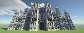 The Grand Cathedral Minecraft Map & Project