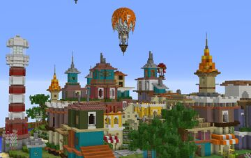 La ciudad Minecraft Map & Project
