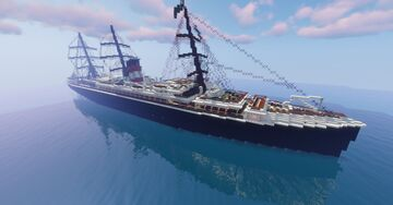SS Anna die Schnelle (1874-1898) Minecraft Map & Project