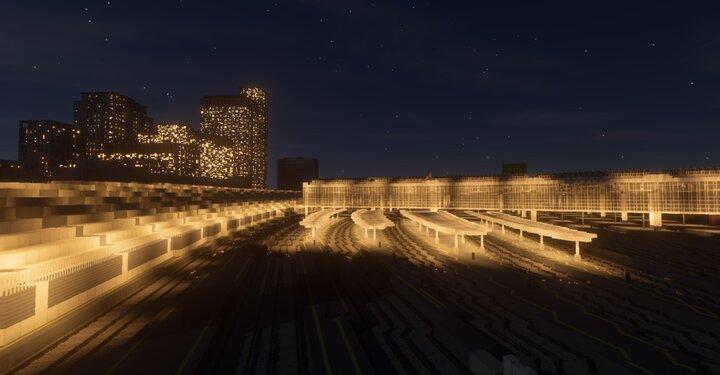 Waterloo at night