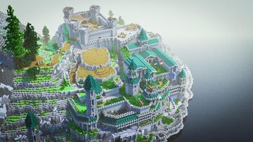 The Frozen City Embassy - First Dawn Project Minecraft Map & Project