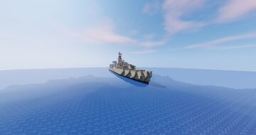 HNLMS Friesland Destroyer D812 Minecraft Map & Project