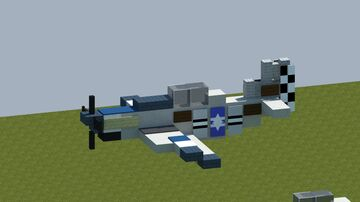 North American P-51 Mustang [With download] Minecraft Map & Project