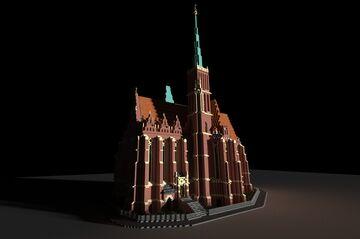 Collegiate Church of the Holy Cross & St Bartholomew / Kolegiata św. Krzyża i Bartłomieja Minecraft Map & Project
