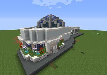Jurassic World Evolution GreenHouse Minecraft Map & Project