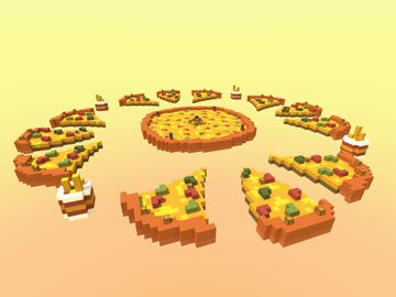 Skywars - Pizza Minecraft Map & Project