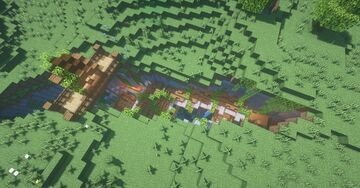 Casa na Ravina | House in the ravine (Minecraft) Minecraft Map & Project
