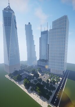 New World Trade Center Complex (WTC) Minecraft Map & Project