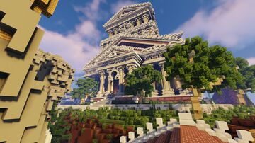 Olympian Skyblock Spawn Minecraft Map & Project